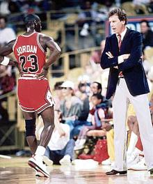 MJ i nowy trener - Doug Collins
